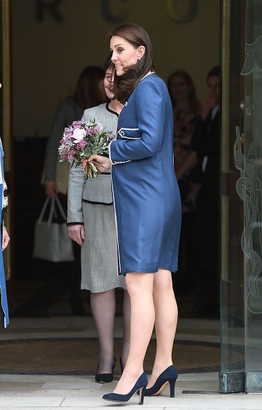 The Duchess Of Cambridge Visits The Royal College Of Obstetricians And Gynaecologists
