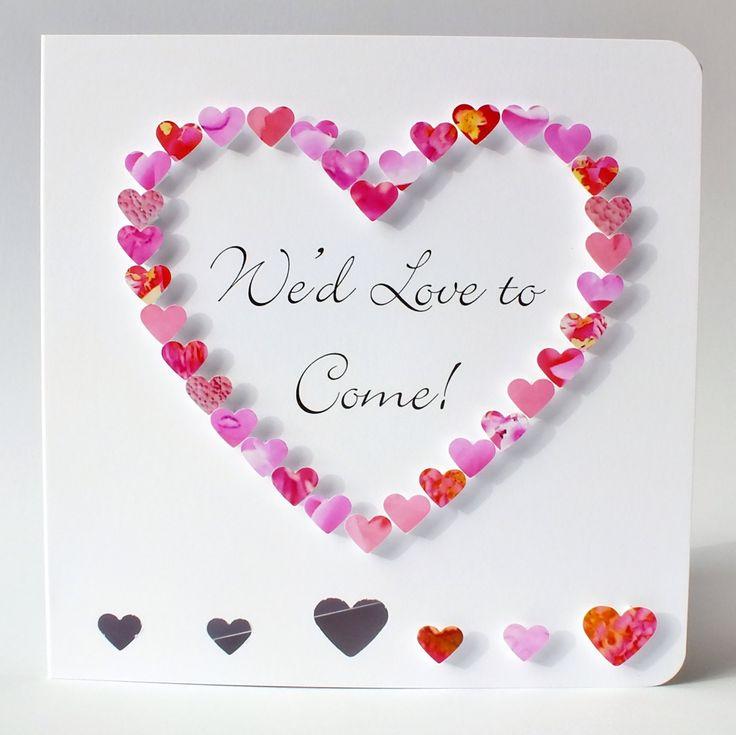 Best 25+ Wedding Acceptance Card Ideas On Pinterest