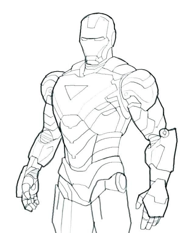 ironman 3 printable coloring pages-#19