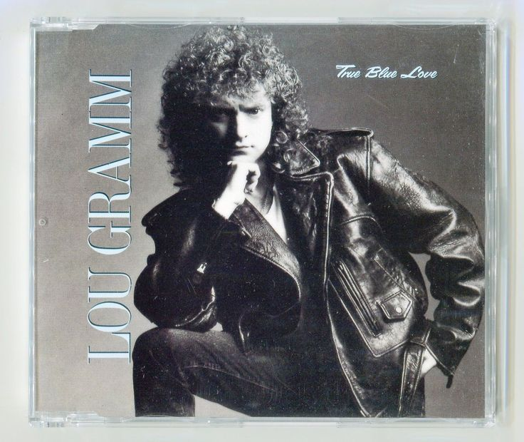 Lou Gramm True Blue Love Scarce 1990 German CD Single Foreigner | eBay