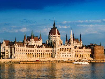 Hongarije - Boedapest, het parlement gebouw!