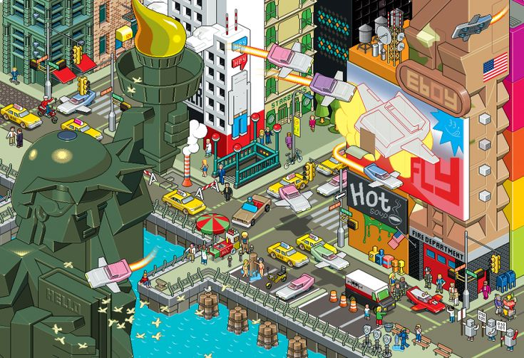 NYC by eBoy