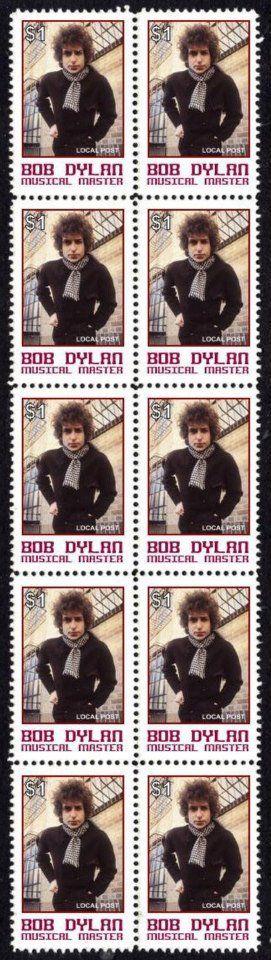 41- bob dylan stamps