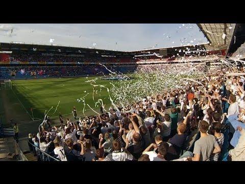 Tifo Vålerenga - Rosenborg at Ullevaal Stadion 25.05.2013