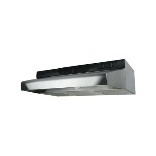 Air King ESDQ124 Energy Star? Qualified 24 Energy Star 270 CFM Under Cabinet Range Hood with 3 Speed Blower and 4.0 Sones (