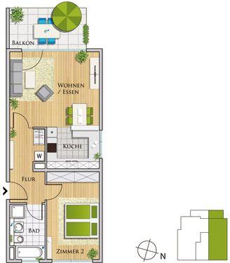 Grafenhöhe   ETW Eigentumswohnungen   2 Zimmer Wohnungen