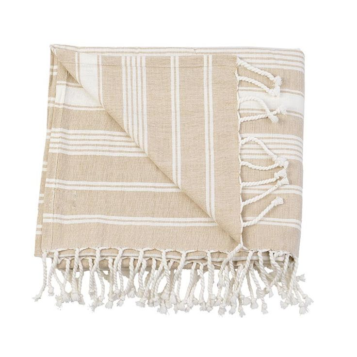 BODY TOWEL - PESTEMAL- BEIGE - Towels