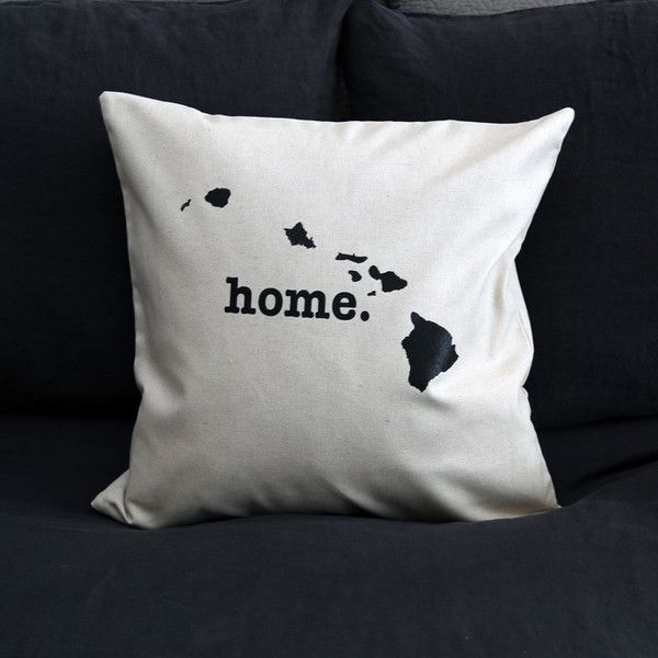 The Hawaii Home Pillow is the perfect way to show off your state pride in your home, while also helping to raise money for multiple sclerosis research.
