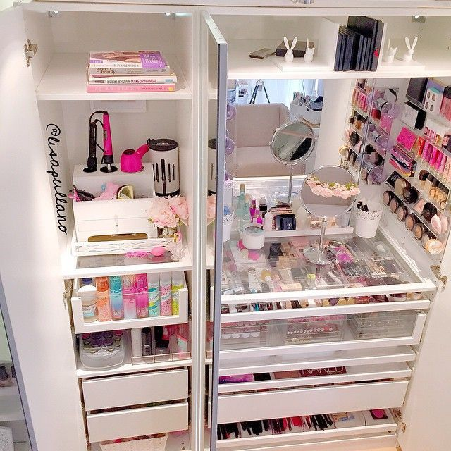 Best 25+ Makeup Vanity Organization Ideas On Pinterest | Vanity Ideas,  Vanity Organization And Makeup Desk