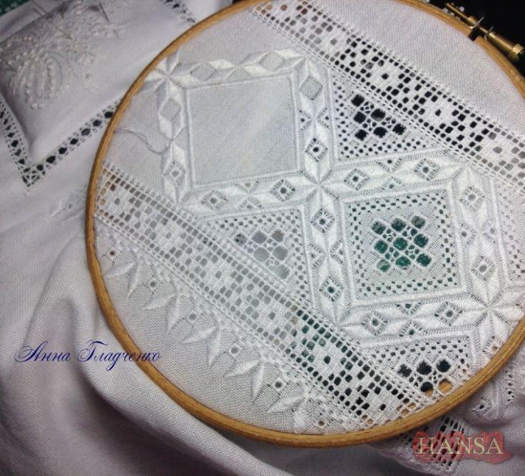 Rare Linda Driskell Drawn Thread MINIATURE SAMPLER - Hardanger Embroidery Pattern Booklet