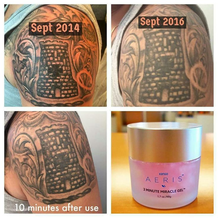 Bring back the brightness to your tattoos with one application. Www.2minutemiraclegels.com