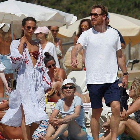 Michael Fassbender and Alicia Vikander vacationig in Ibiza (Balearic Islands, Spain)  michaelfassbender #fassy #irish #german #hunger #shame  #12yearsaslave #inglouriosbastards #prometheus #xmen #janeeyre #assassinscreed #stevejobs #frank #thecouncelor ##macbeth #goldenglobes #oscar #bafta #thelightbetweenoceand #thesnowman #trespassagainstus #aliencobest #handsome #theone #fassbender #blueeyes venant #songtosong