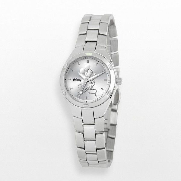 Disney Mickey Mouse Stainless Steel Watch - Women