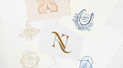 Couture Monograms + Crests Horseshoe