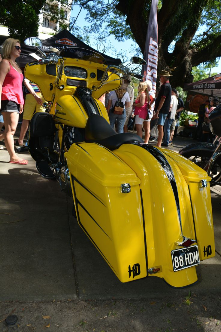 One of the winners in the Show and Shine at the 2014 Australian HOG Rally in Cairns. Read all about it at http://motorbikewriter.com/hog-rally-success-story/