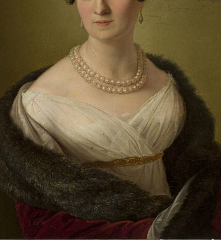 Portrait of Zofia Potocka by Ferdinand Marohn