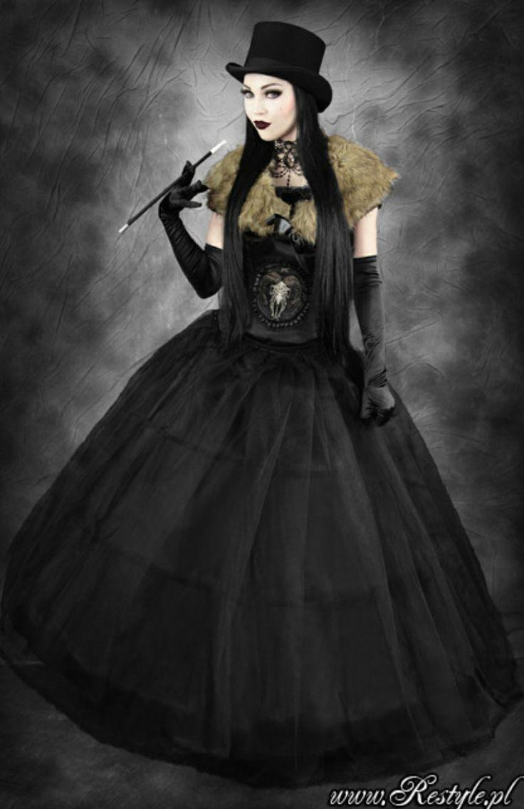 Restyle Satanic Goat Skull Corset Victorian Goth