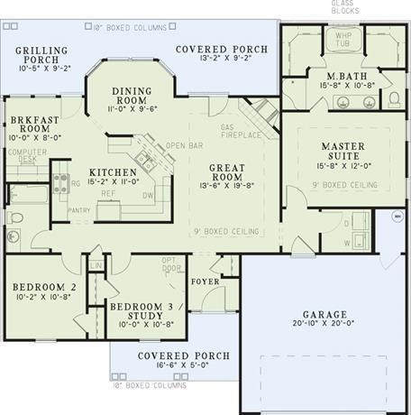 Charming Plan #: 6   HPP 6798   House Plans Plus