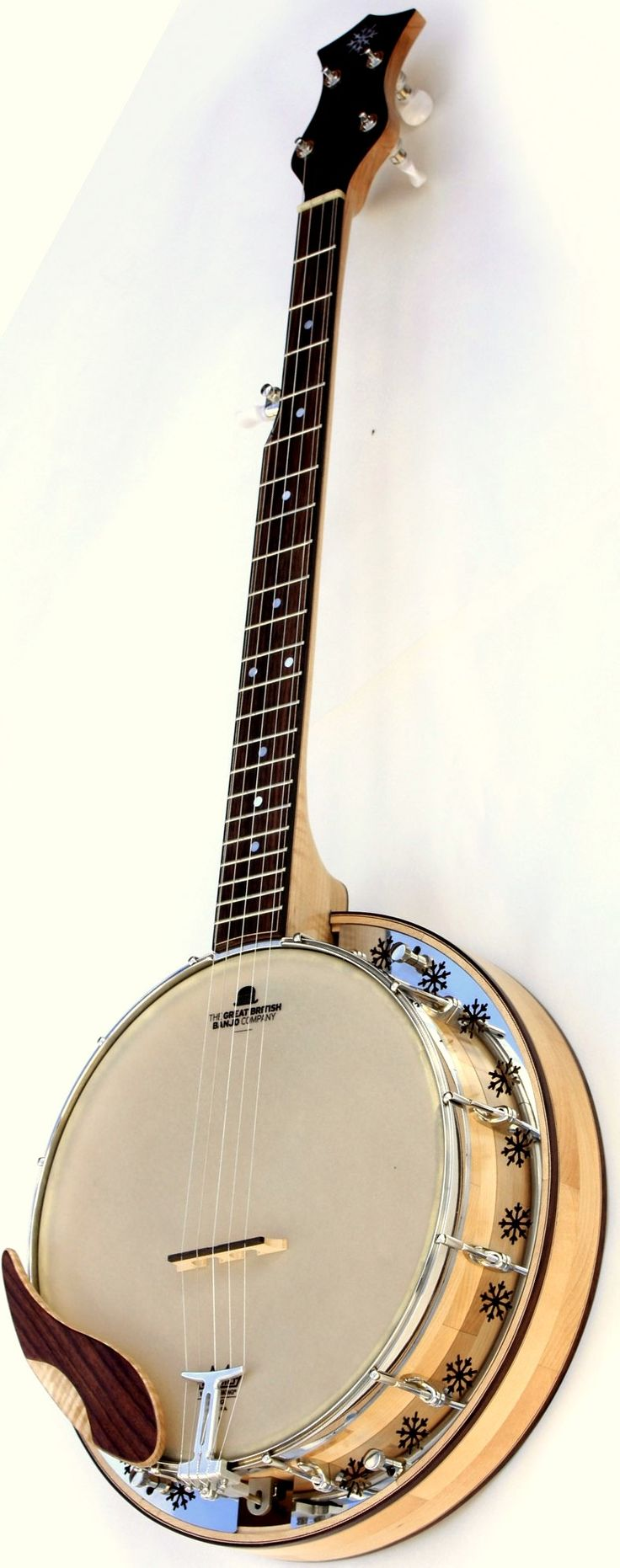 Shackleton Banjo Co. Bluegrass Banjo --- https://www.pinterest.com/lardyfatboy/