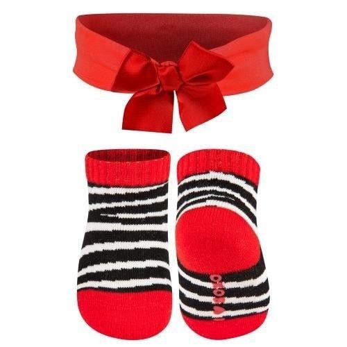 SOXO Baby set socks with headband | BABIES \ Socks BABIES \ Babies sets | SOXO socks, slippers, ballerina, tights online shop
