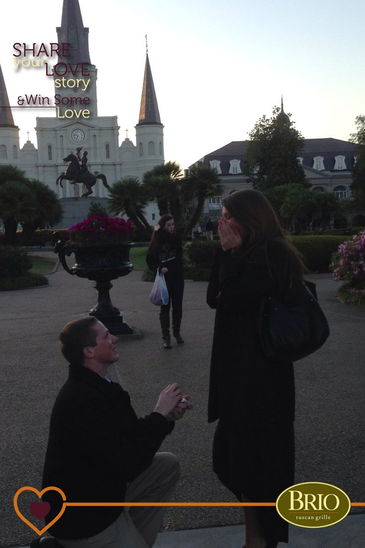 Eric's Story: Lauryn and I both grew up in the same town but didn't meet until our freshman year of college when we were introduced by a mutual friend. We dated for 5 years and last year I proposed to her in New Orleans in front of the St. Louis Cathedral. It was so special because that cathedral was where both her great grandmother and great-great grandmother were married. We will be getting married on October 10th, 2014 and can't wait to spend the rest of our lives together!