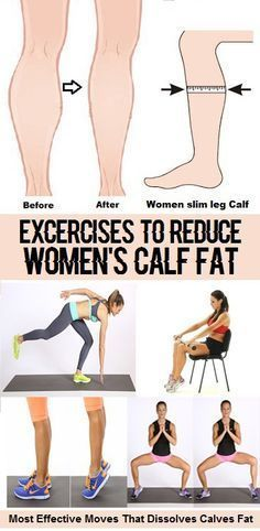 Best Calf Exercises for WOmen http://amzn.to/2s1pFNY