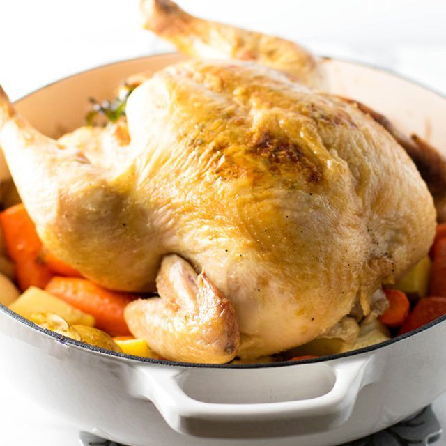 Keep these easy recipes in your back pocket and whip 'em out when you want to feel like Ina Garten. From a crispy yet juicy whole roast chicken to creamy potatoes au gratin to decadent chocolate mousse, these foolproof recipes are so easy to master that you'll be stocking up on fancy cookware like Staub cocottes and Demeyere pans to keep...