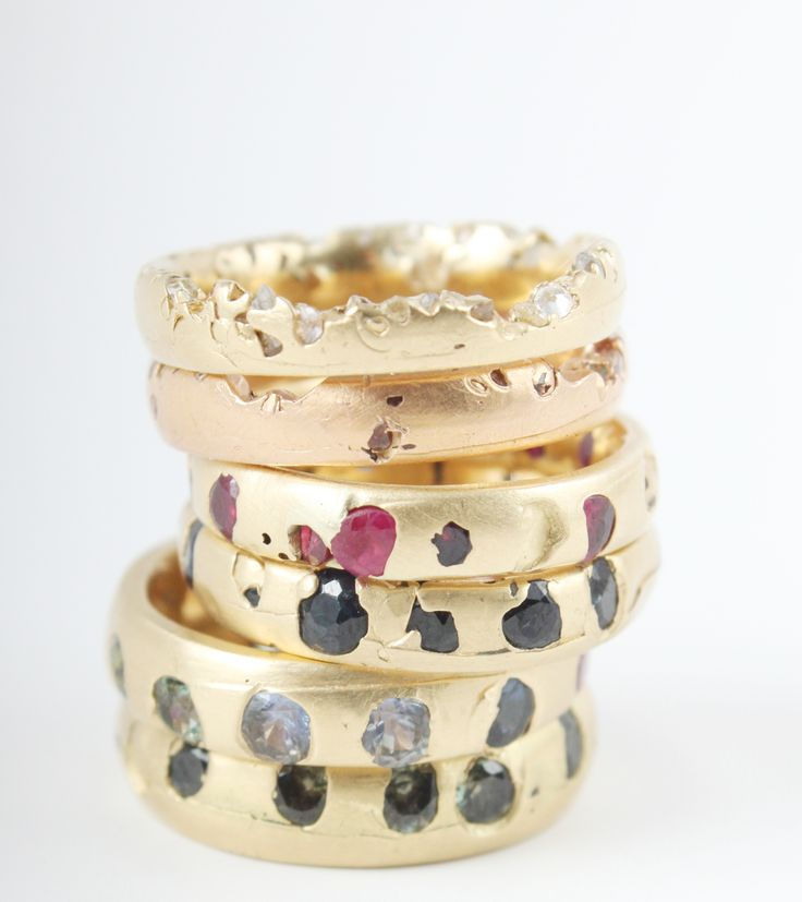 Polly Wales, we LOVE you. Wedding bands available at www.catbirdnyc.com.