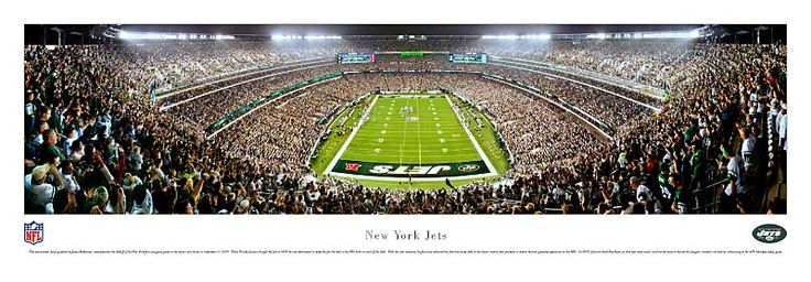 New York Jets - New Meadowlands Stadium Picture - NFL Panoramic $29.95