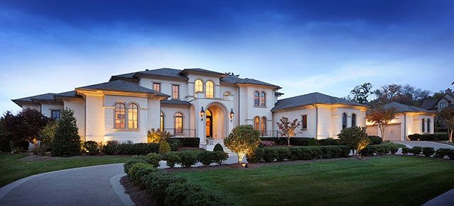 9 best mediterranean custom home castle custom homes for Castle modular homes