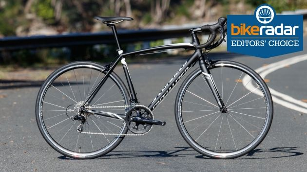 The 2016 specialized allez e5 sport is the winner of our budget road bike grouptest, where we compared six of the biggest brand road bikes:
