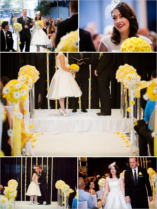 retro wedding ideas
