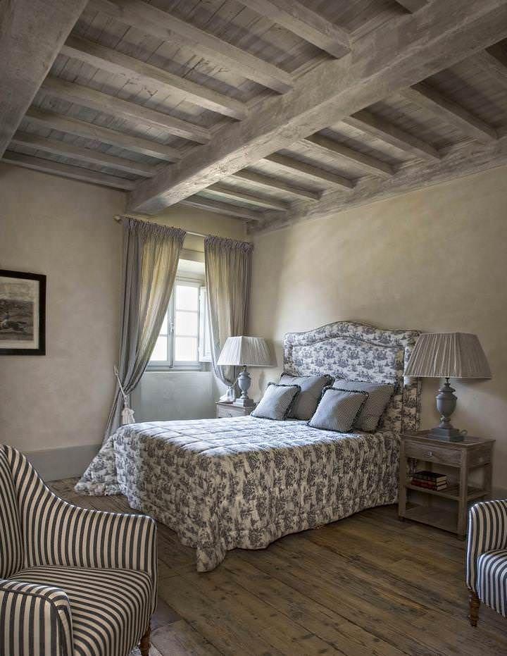 Country Chic In Toscana Camere Da Letto Stile Country Stanza Da Letto Shabby Chic Idee Arredamento Camera Da Letto