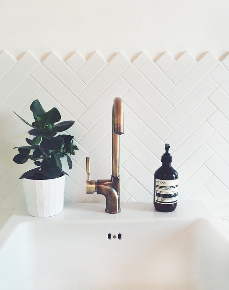 Subway tiles are the white T-shirt of interiors: A timeless, well-loved basic that's a classic for a reason...but can get really boring, really fast. Here, 13 unexpected and totally inspiring things to do with them. RELATED: Matte Black Hardware Is Having A Moment and We're Not Mad