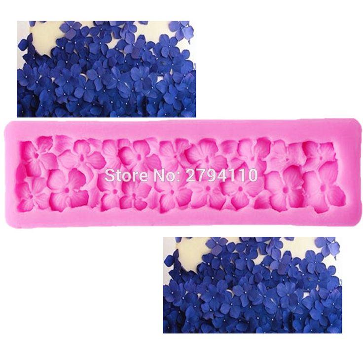 M312  Nail-Headed Border Flower Cake Decoration tools Silicone Mold Border Sugarcraft Frozen Fondant Cake Tools