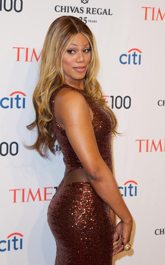 Laverne Cox aka Sophia from Orange is the new black. She's a queen.
