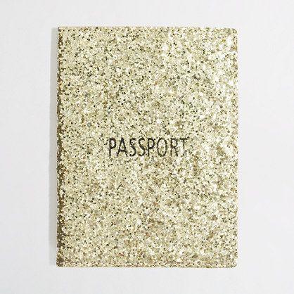Passport to a glittery life.
