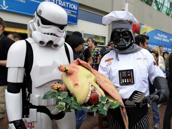 Thanksgiving on the death star!