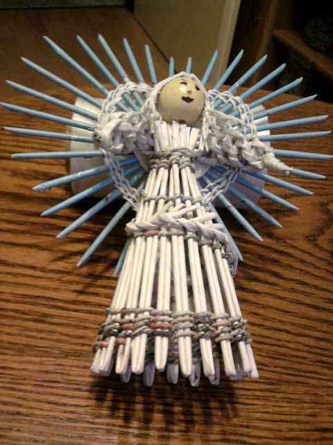 Moje wyplatanie papirowej wikliny - marianna wróż - Álbumes web de Picasa