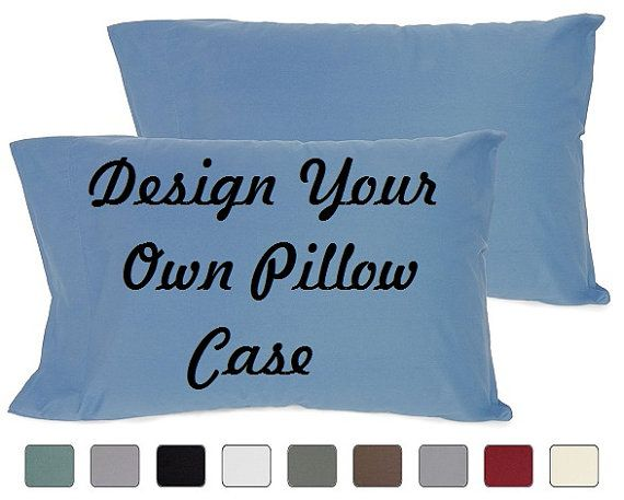 DG Custom Graphics is your premier site for custom designed apparel.    We can design your pillow cases with your custom artwork, text or business logo. Forward your artwork with one color. If additional colors are needed we can provide a custom quote.    Forward us the following info and we will send you a proof of the finished product.  1.Pick One Color (Choices: Blue, Black, White, Red) Additional colors available upon request and with a surcharge.  2.Upload Artwork to us. Include your…