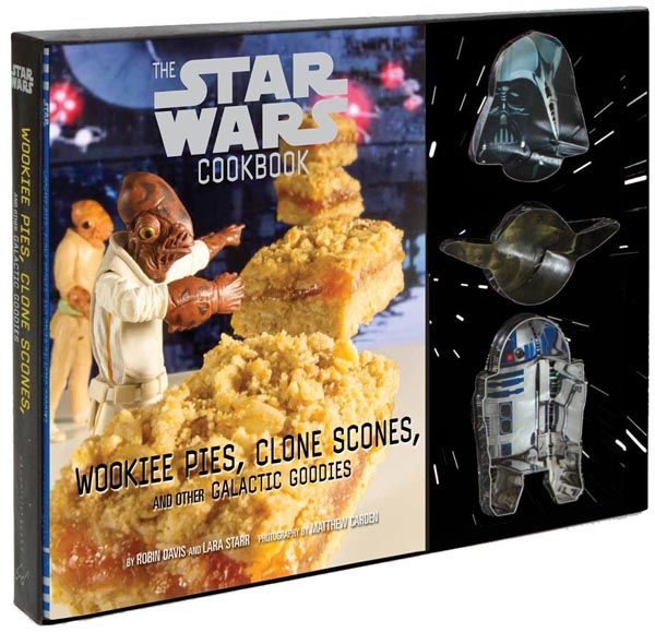 .star wars cookbook: wookiee pies, clone scones, and other galactic goodies book