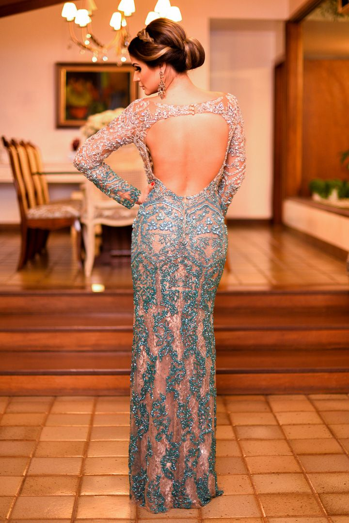 Meu look – Wedding! Thássia Naves Vestido – Patricia Bonaldi | Jóias – Goldesign