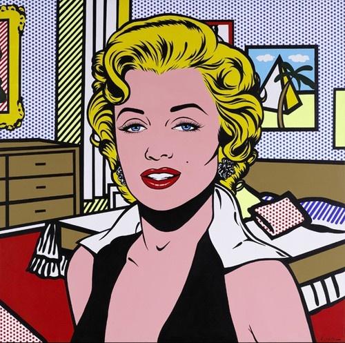Lichtenstein marilyn monroe roy lichtenstein pinterest pop art art and pop - Roy lichtenstein pop art ...