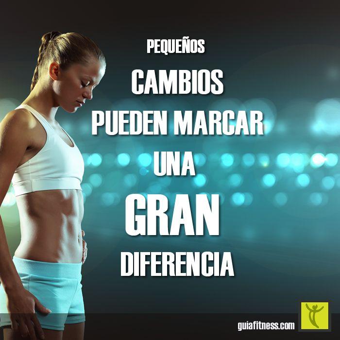 Pequeños cambios para marcar la diferencia | Guía Fitness