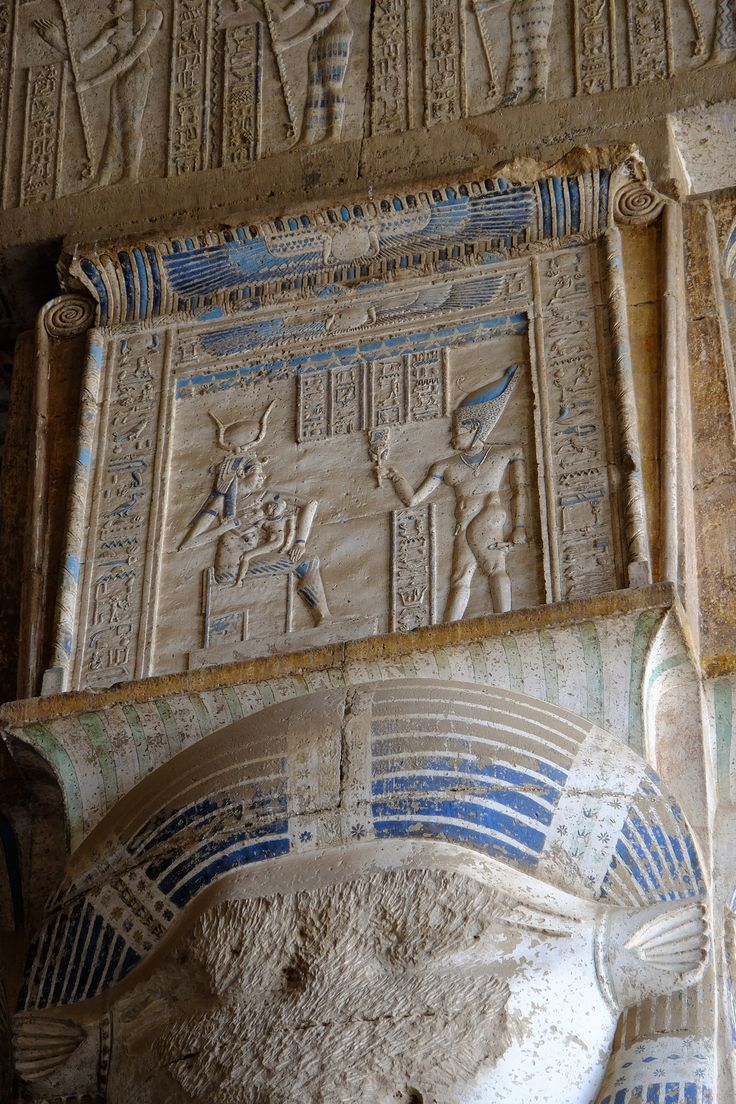 Capital of Hathor Column Dendera