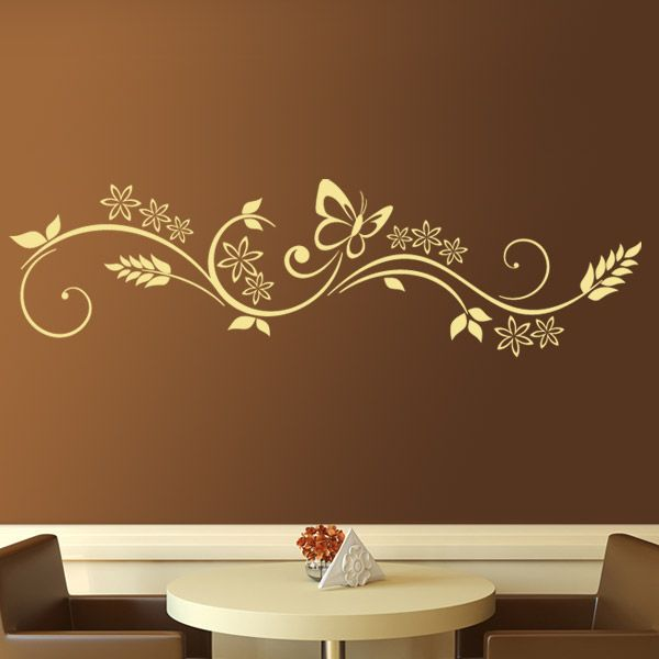 84 best images about vinilos decorativos florales on for Vinilos decorativos para pared