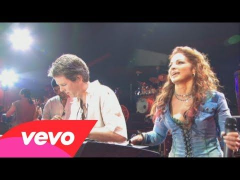 """""""Conga"""" by Gloria Estefan and the Miami Sound Machine - one of her classics, she has aged so well; lots of life in her songs, this used to be the wedding dance chain song but not much anymore"""