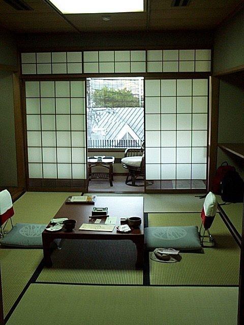 Ryokan à Kyoto...best night's sleep I've ever had...on a tatami mat!