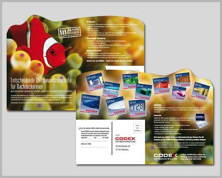 neueaviva Werbeagentur Mannheim - Kreativ-Mailing für CODEX Softwareentwicklung