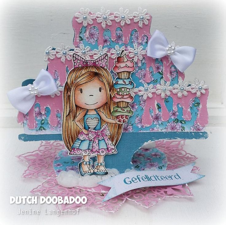 Cake Art Netherlands : 210 best images about cards dutch doobadoo on Pinterest ...